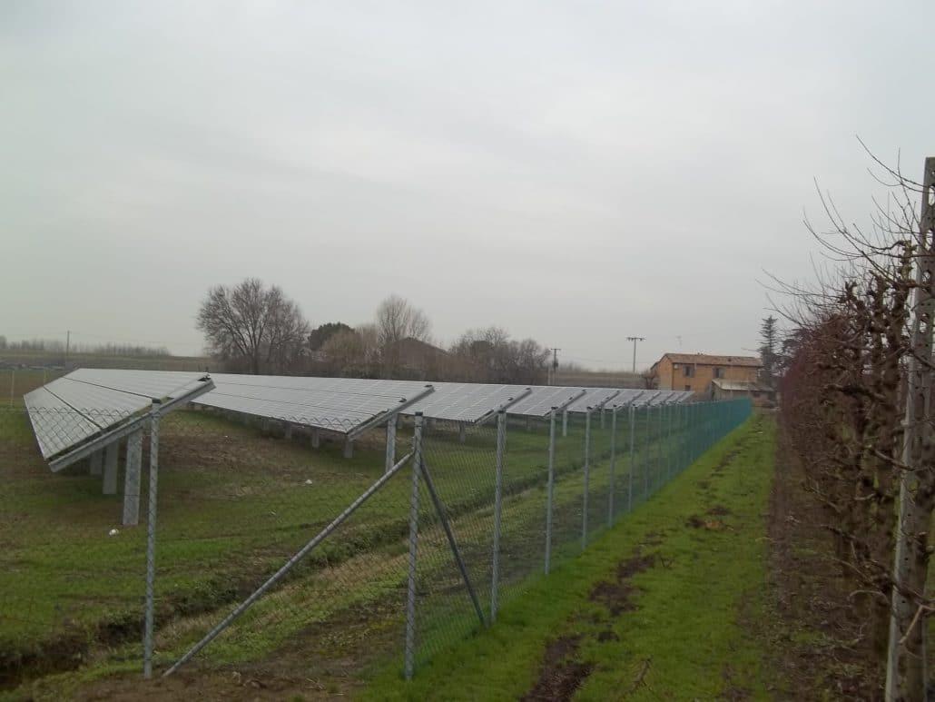 Imp.FV 100 kWp - alfonsine - Via destra senio