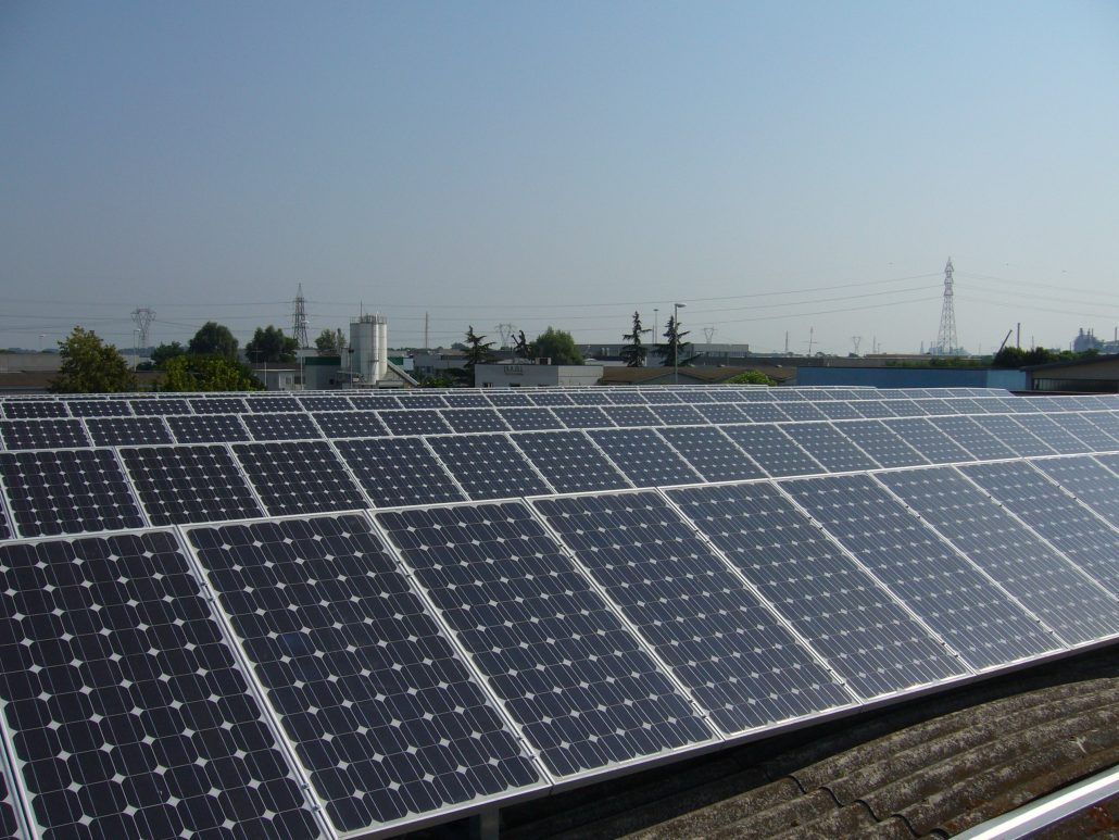 Imp.FV 20 kWp - Via Monti - Ravenna