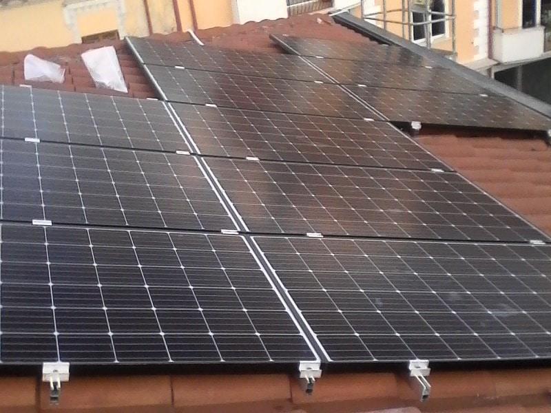 Imp.FV 6 kWp Avezzano - Via F.lli Rosselli